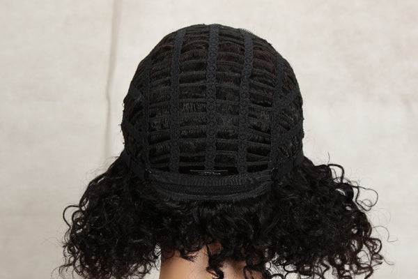 Pirouzi Official Sleek Natural Brazilian Hair Curly Wig