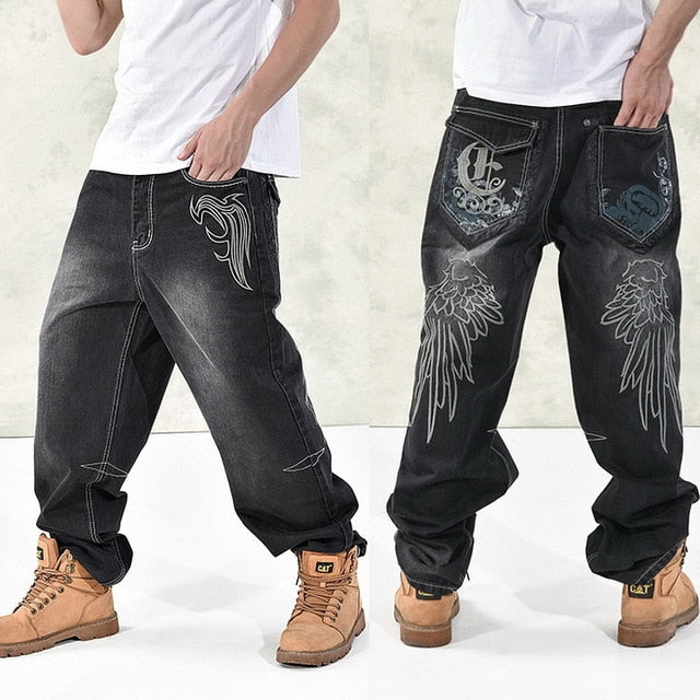 Pirouzi Official Throwback Loose Denim Jeans