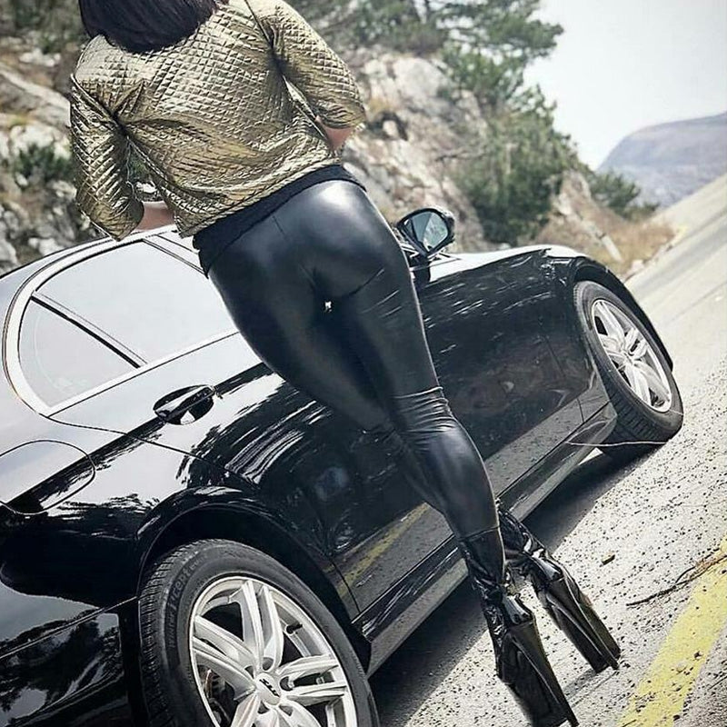 Pirouzi Official Slim Fit Leather Pants