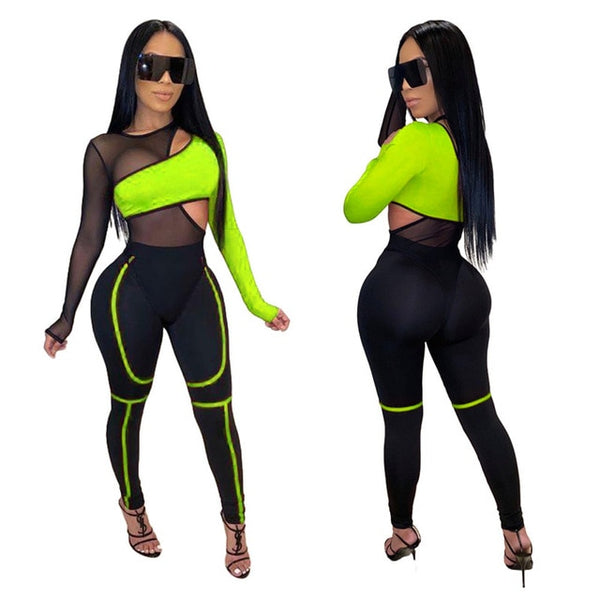 Pirouzi Official Bandage Jumpsuit