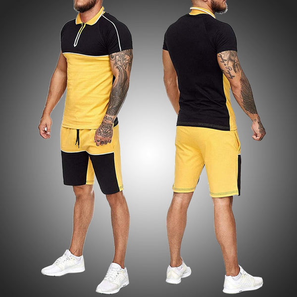 Pirouzi Official Polo Top & Shorts Set