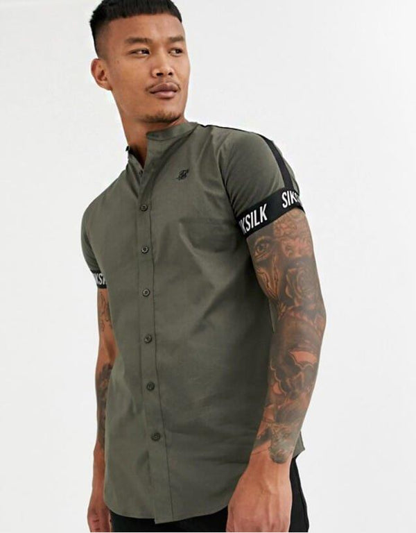 Pirouzi Official S.S Military Khaki Shirt