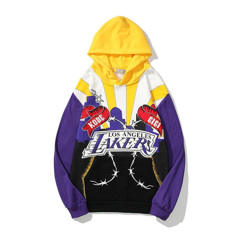 Pirouzi Official Los Angeles Lakers Kobe & Gigi Tribute Hoodie (SOLD OUT)