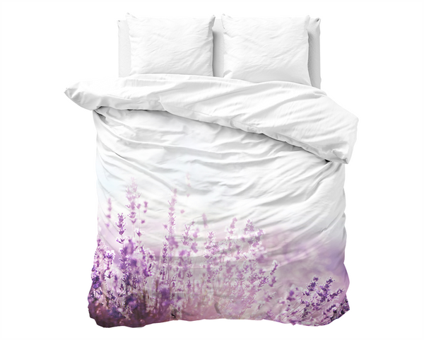 BIANCHERIA DA LETTO Purple Fields of France