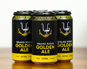 4 Pack - Grand Ridge Golden Ale