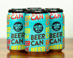4 Pack - Moon Dog Beer Can