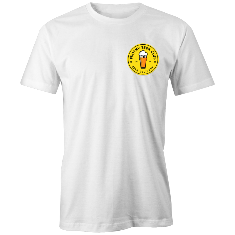 Frothy Beer Club - White Classic Tee