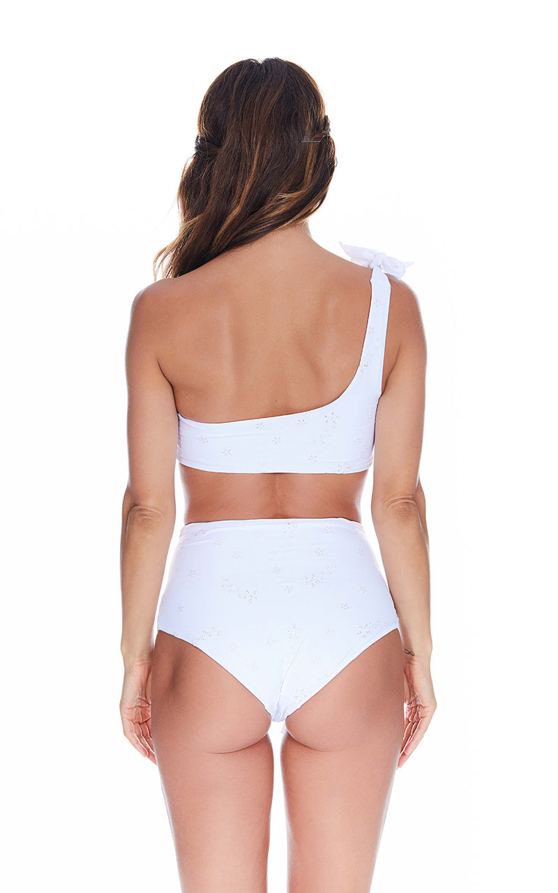 Coco One Shoulder top & Beau High Waist Bottoms