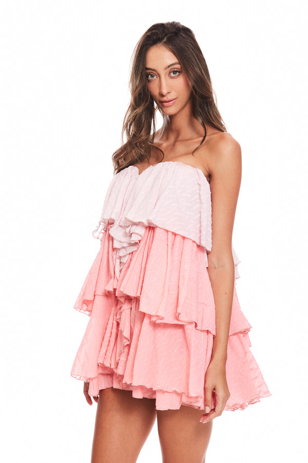 Short Ruffle Dress
