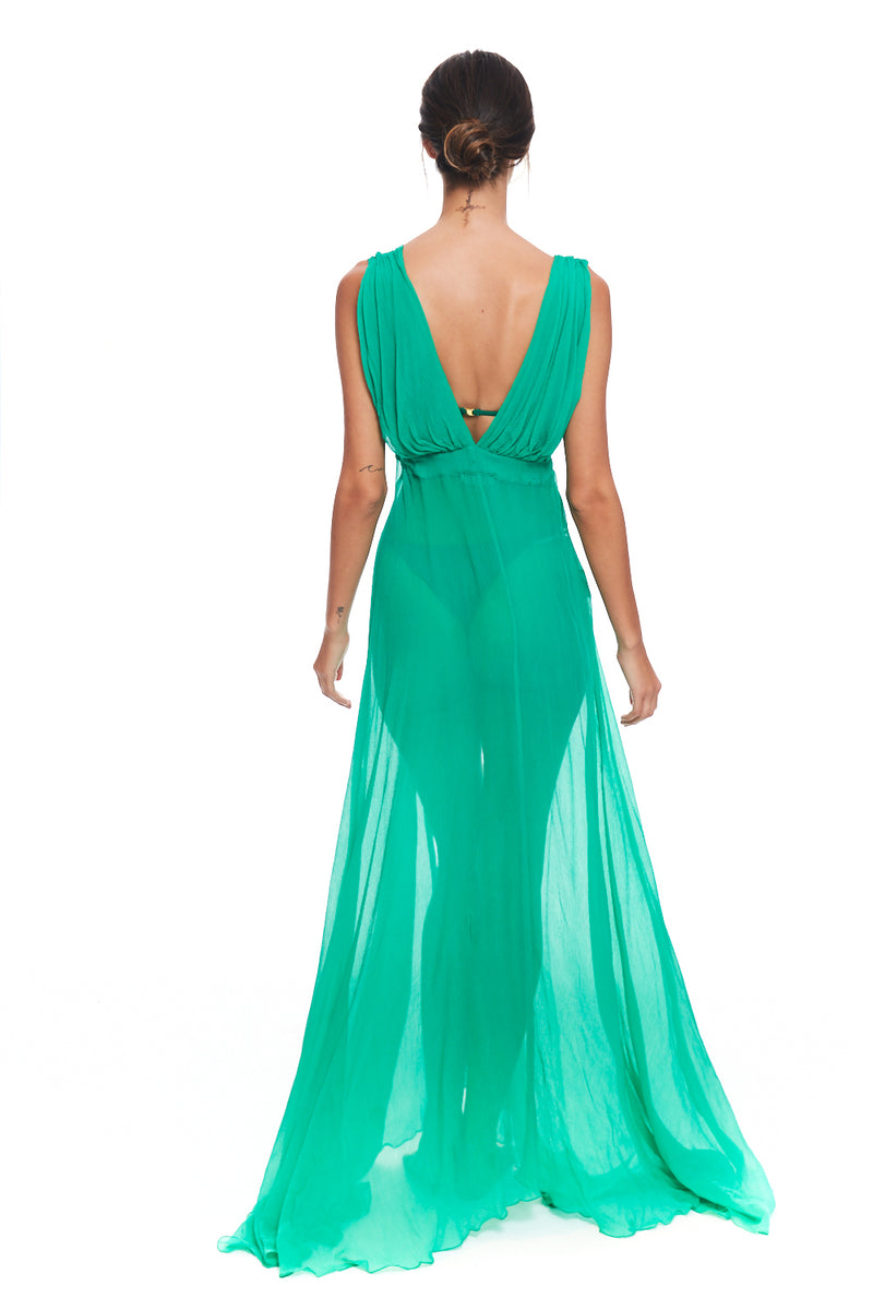 Emmelie Green Dress