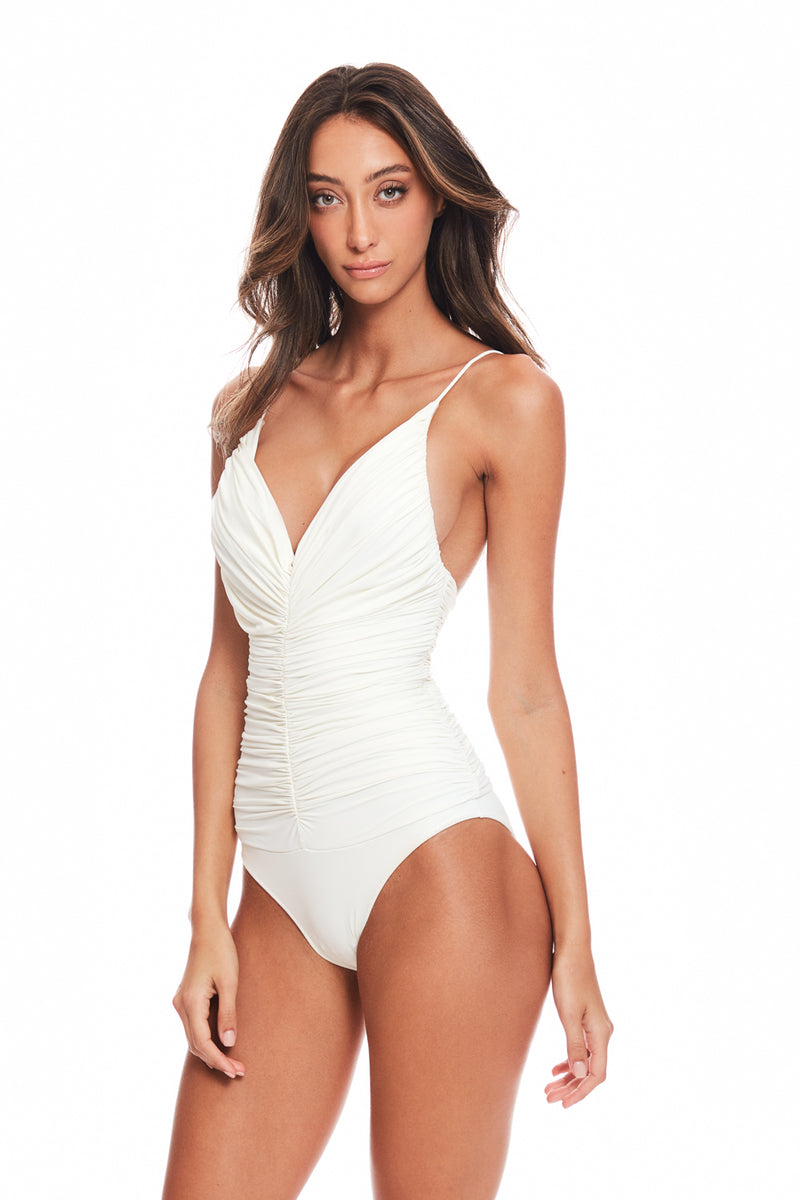 Chalou White Swimsuit