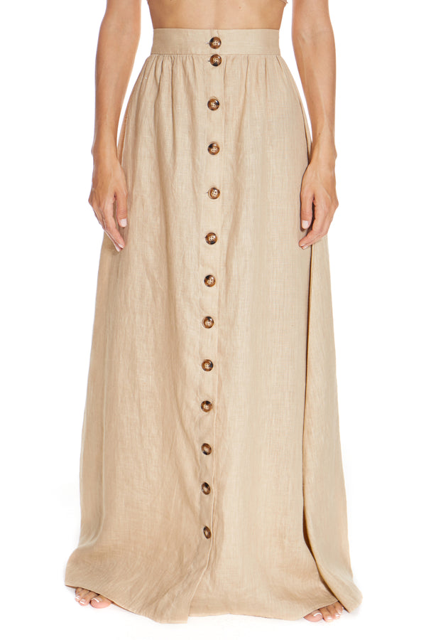 St. Barths Be Nude Skirt