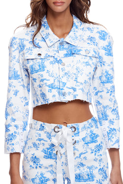 Delphine Cropped Jacket