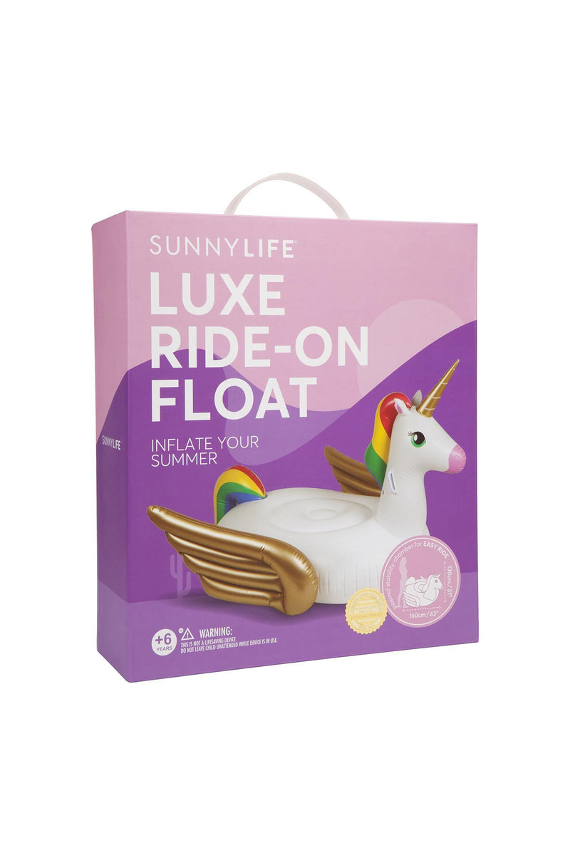 Sunnylife Ride-on Float unicorn