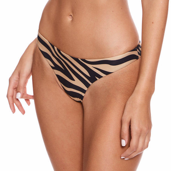 Brief Bottom Zebra Nude