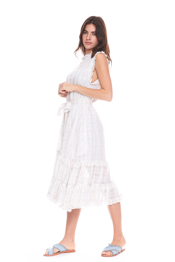 Yoke Ruffle Dress