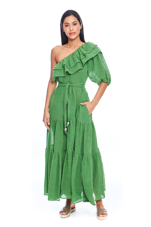 Arden Double Ruffle Dress