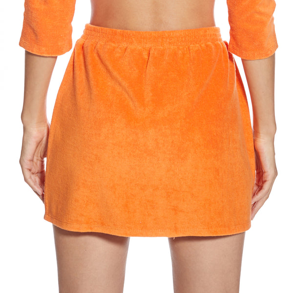 Monaco Burned Orange Skirt