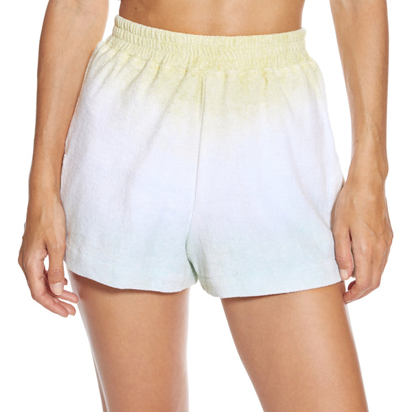Monaco Green Ombre Shorts