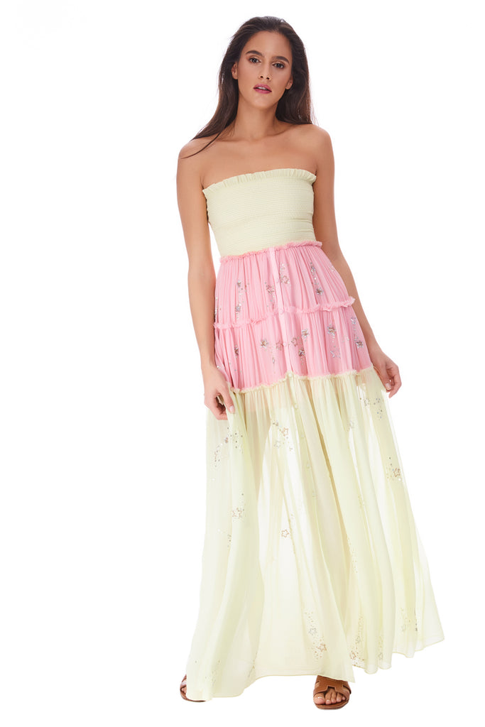 c40f150401 Off Shoulder Long Dress Star Light – Cocobum