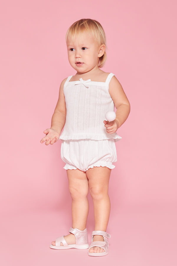 Creamsicle Pointelle Bloomer