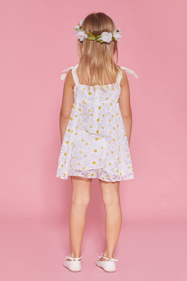 Daisy Embroidery Dress