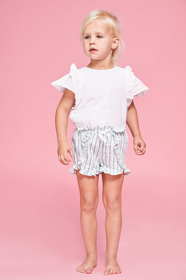 Sand Box Ruffle Shorts
