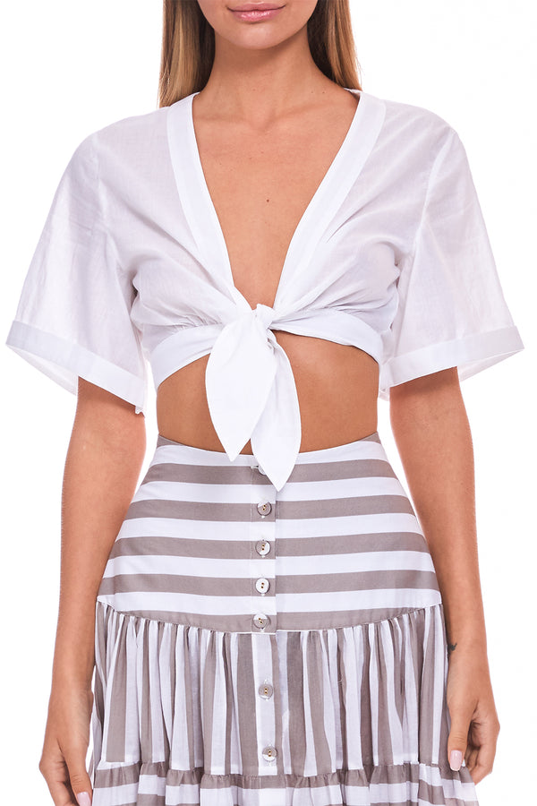 The Sandie Tie Top