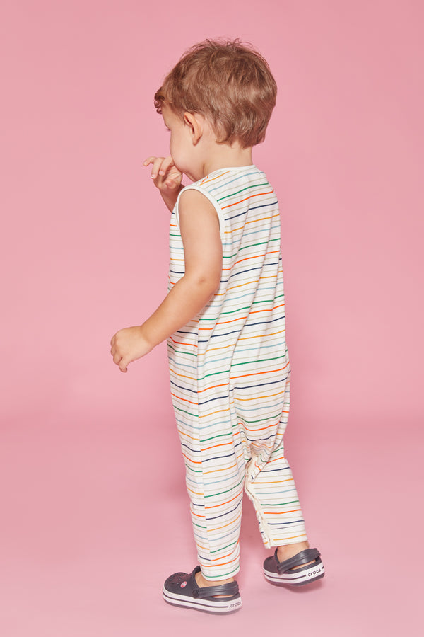Painter Stripe Romper