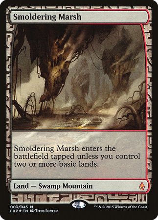 Smoldering Marsh [Zendikar Expeditions] | Gaming Kingdom ON
