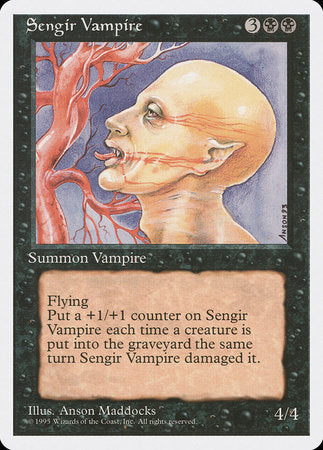 Sengir Vampire [Fourth Edition] | Gaming Kingdom ON