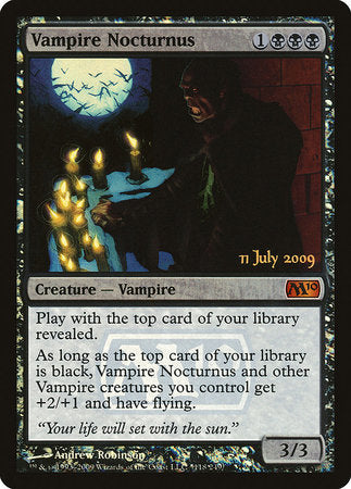 Vampire Nocturnus [Magic 2010 Promos] | Gaming Kingdom ON