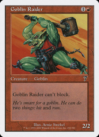 Goblin Raider [Seventh Edition] | Gaming Kingdom ON