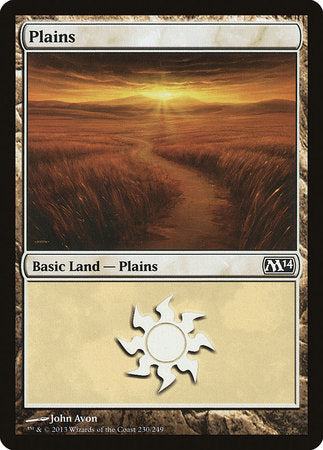 Plains (230) [Magic 2014] | Gaming Kingdom ON