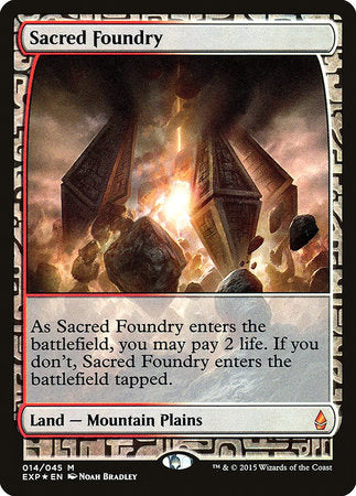 Sacred Foundry [Zendikar Expeditions] | Gaming Kingdom ON