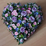 Mixed Flower Filled Heart