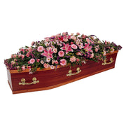 Mixed Pink Casket Spray