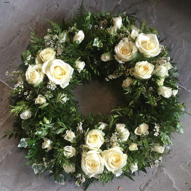 Rose & Foliage Wreath