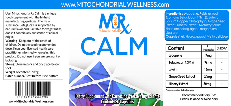 Mitochondrial Rx Calm