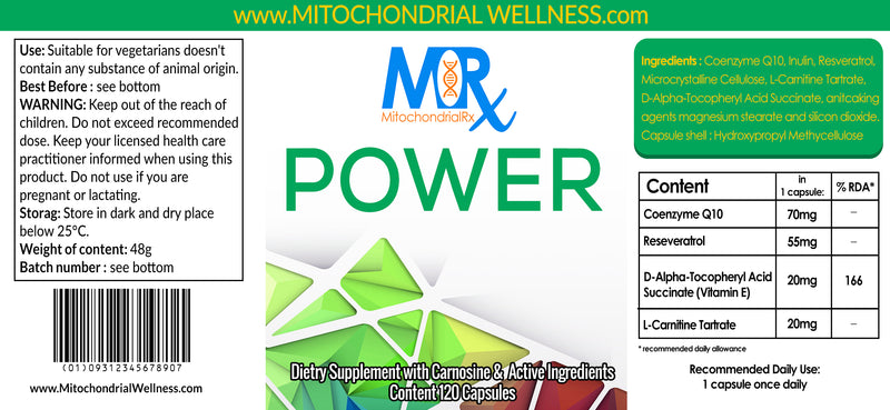 Mitochondrial RX - 2 Month Supply