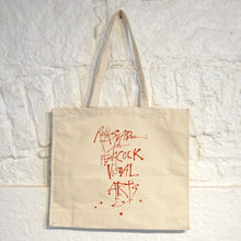Load image into Gallery viewer, PEACOCK VISUAL ARTS TOTE BAG | RALPH STEADMAN