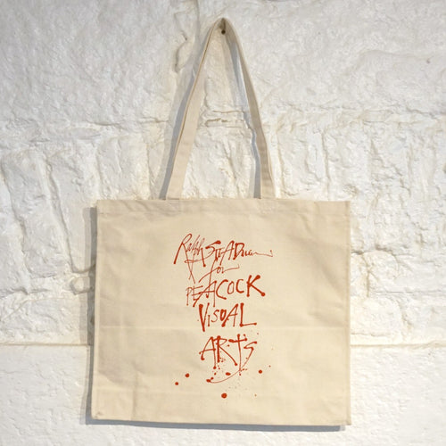 PEACOCK VISUAL ARTS TOTE BAG | RALPH STEADMAN