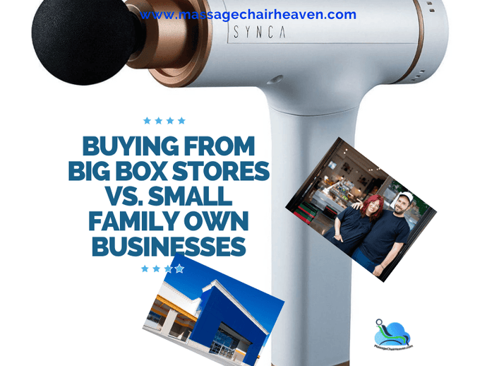 Buying From Big Box Stores vs. Small Family Own Businesses