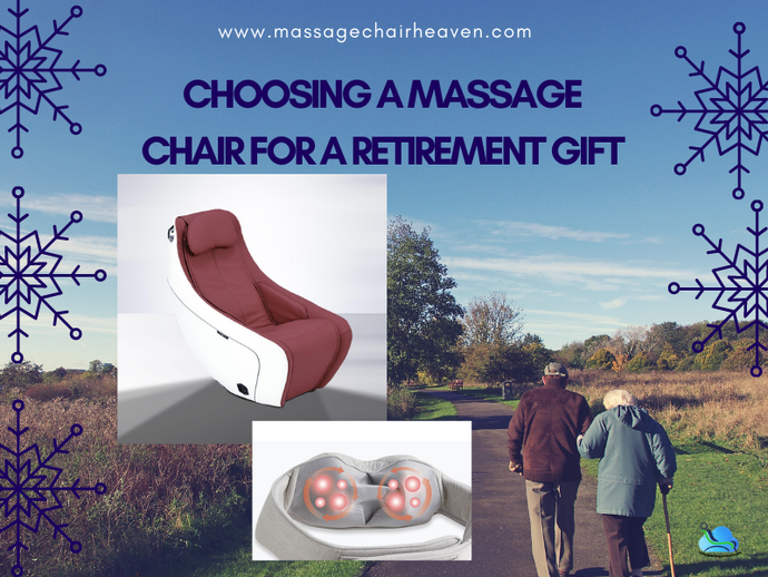 Choosing A Massage Chair For A Retirement Gift