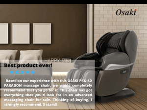 Osaki OS PRO 4D Paragon Massage Chair Review | Massage Chair Heaven