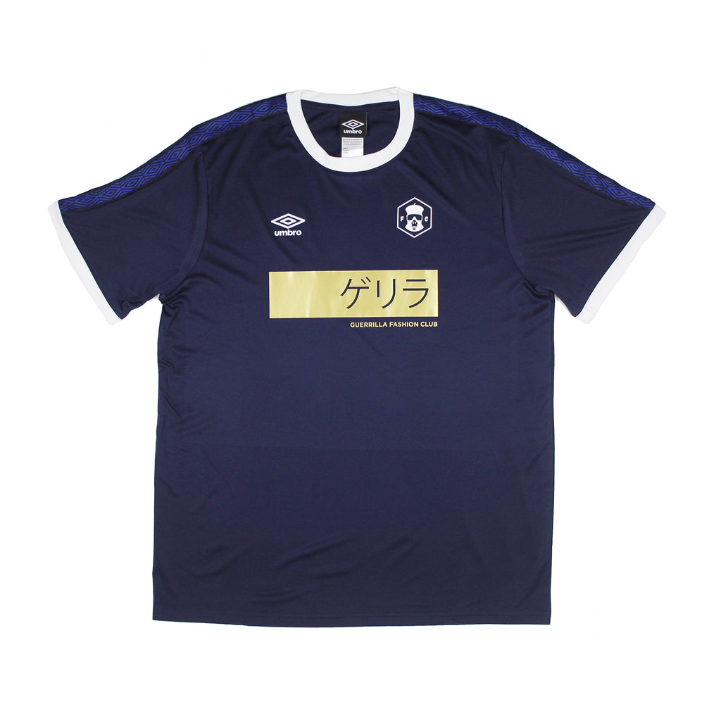 Fashion Club T-shirt (Blue/Gold)