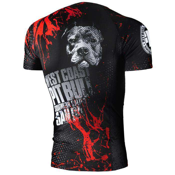 RASHGUARD BLOOD DOG