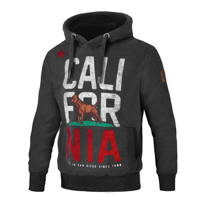 "BLUZA Z KAPTUREM ""CALIFORNIA FLAG"""