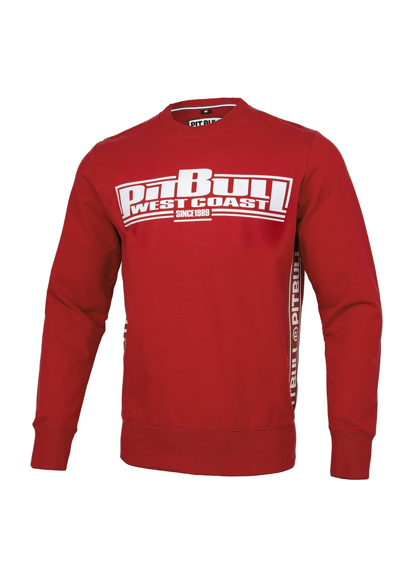 Boxing Crewneck FRENCH TERRY Czerwona