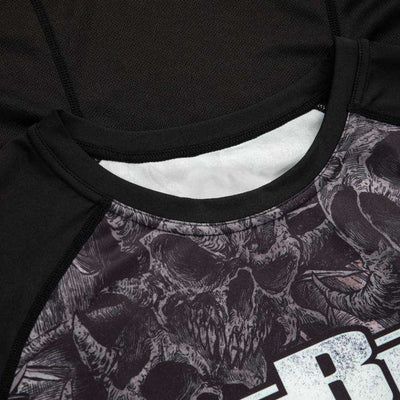 LONGSLEEVE RASHGUARD PERFORMANCE MESH WARRIOR XVIII